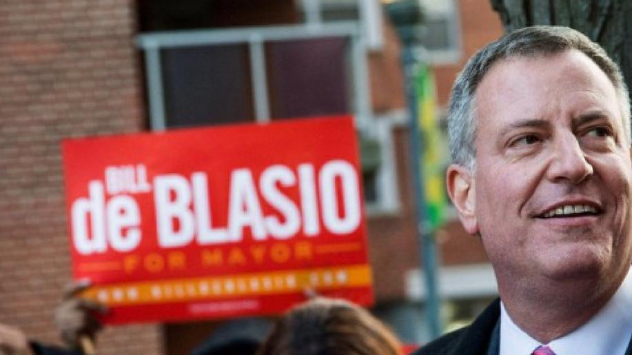 De Blasio sindaco New York