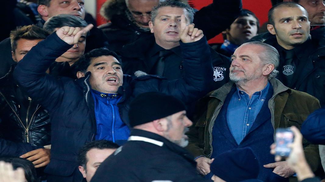 Maradona de laurentiis