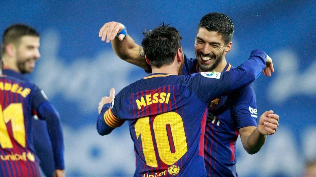 Barcellona Messi Suarez