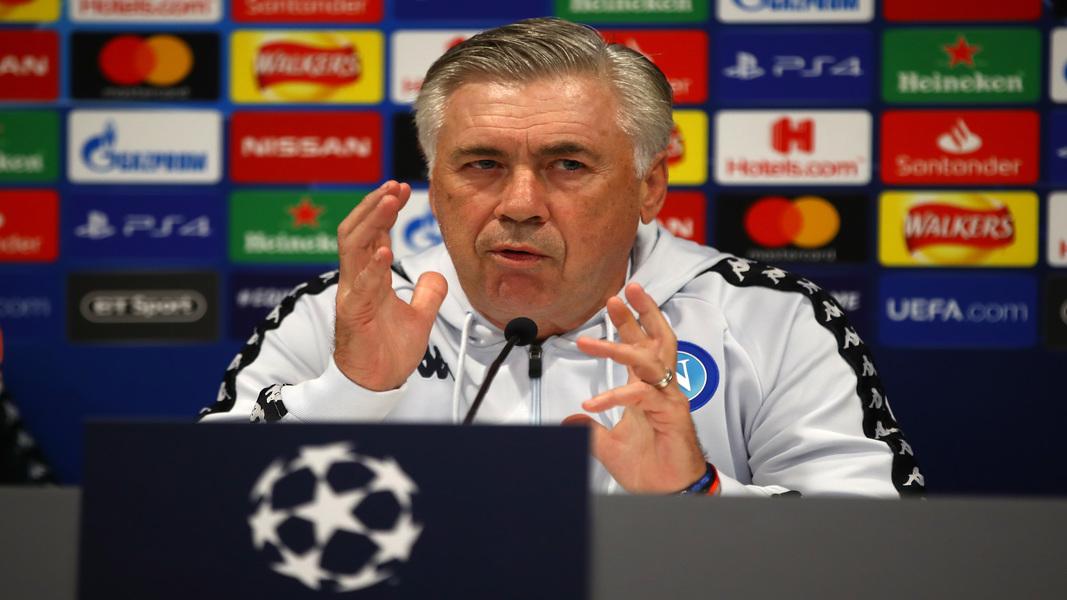 Ancelotti Champions League
