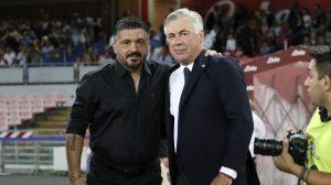 Ancelotti e Gattuso