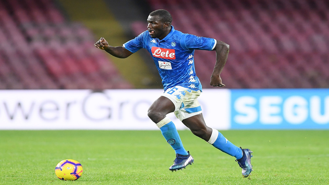 Koulibaly in azione