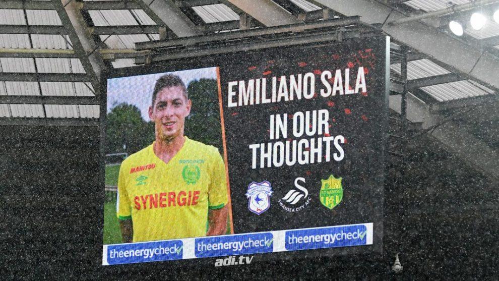 L'omaggio a Emiliano Sala