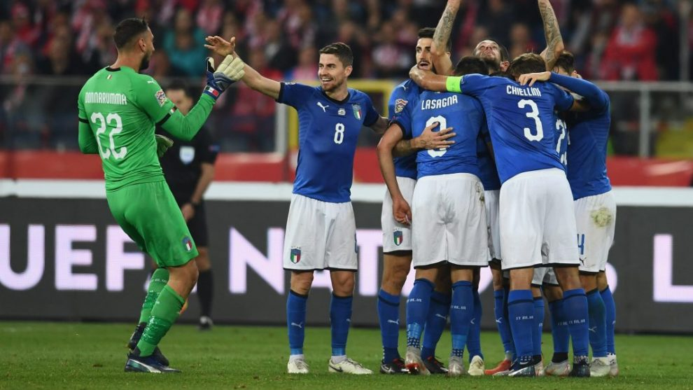 Nations League Italia