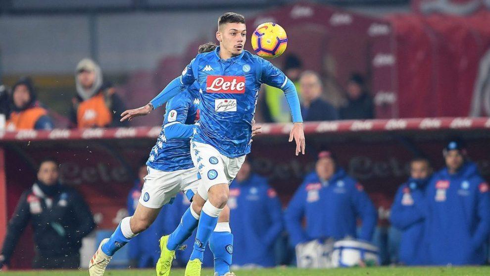 Gianluca Gaetano in azione
