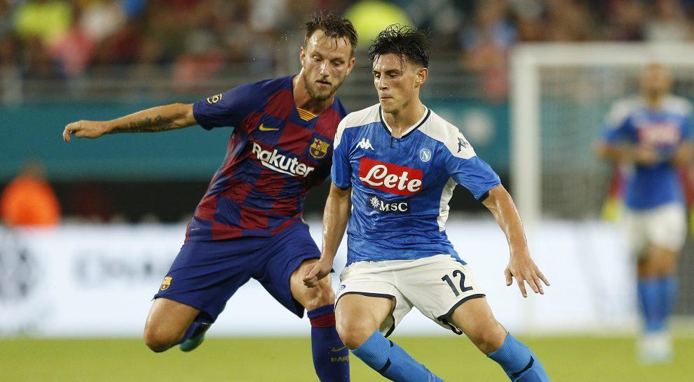 Napoli, infortunio per Elmas con la sua nazionale