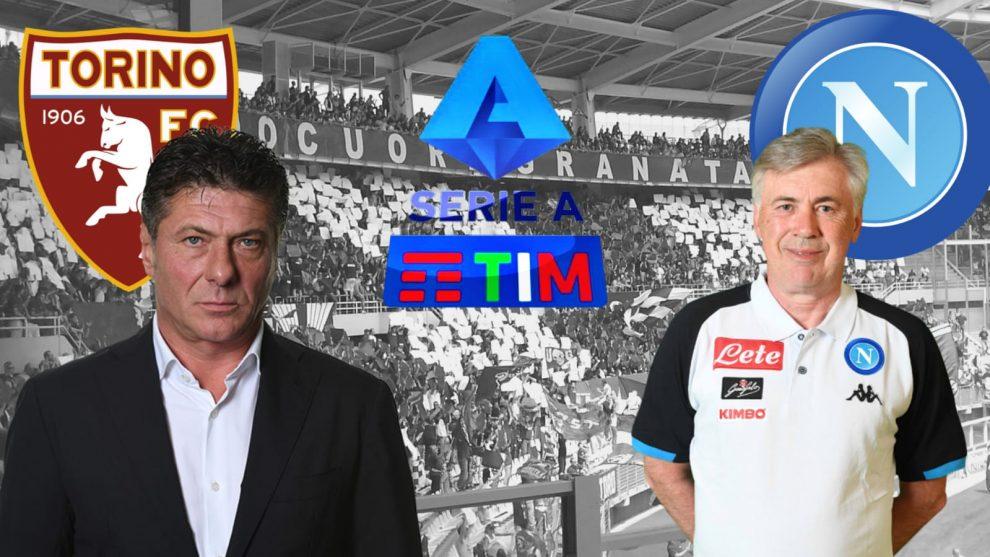 Torino-Napoli Mazzarri Ancelotti