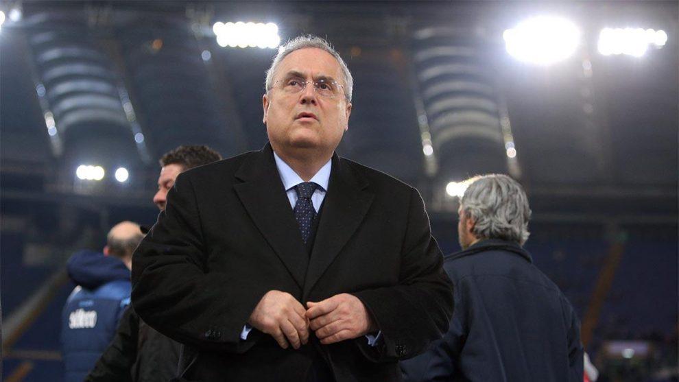 Claudio Lotito presidente lazio
